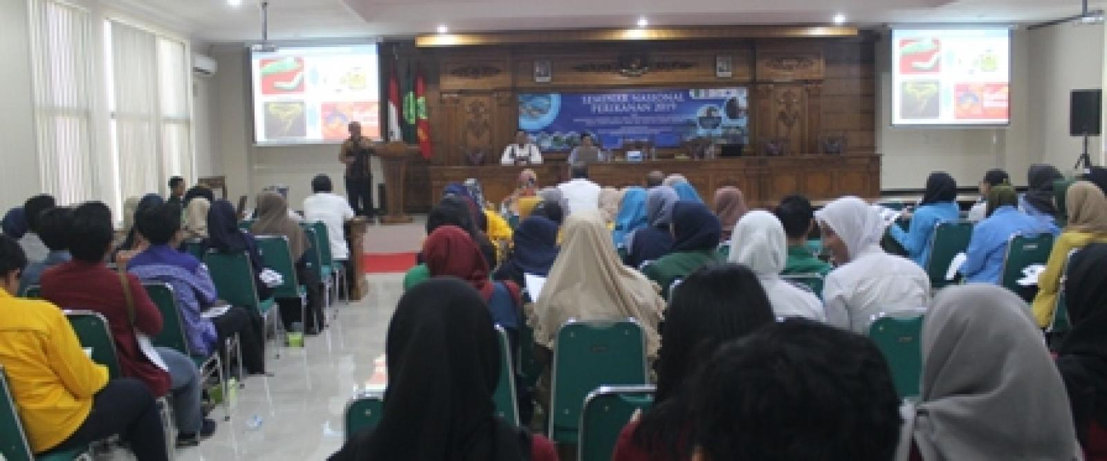 Seminar Nasional Perikanan (Semnaskan) III Tahun 2019