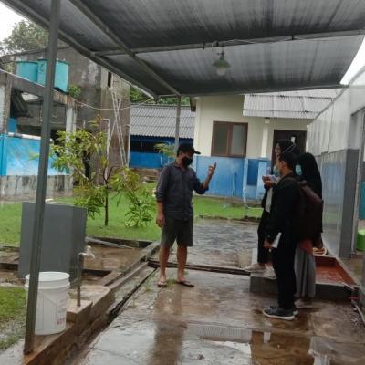 KKL Mahasiswa Prodi Budidaya Perairan Tahun 2021